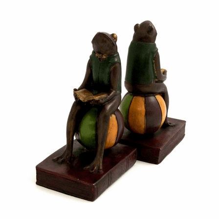 Frogs on a Beachball Bookends - Discontinued