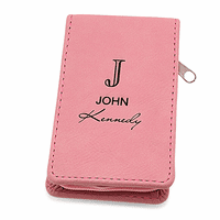 Full Name Monogram Pink Manicure Gift Set