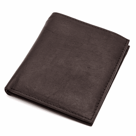 Genuine Leather 13 Card Credit Card Holder with ID Window