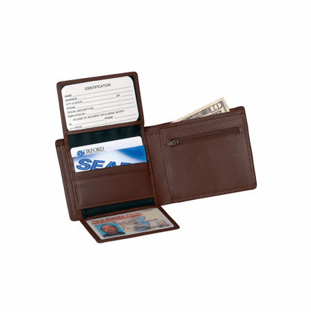 Genuine Leather Commuter Wallet by Royce Leather - Discontinued