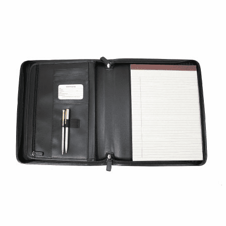 Genuine Leather Executive Brief Padfolio by Royce