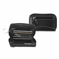 Genuine Leather Mini Wallet - Discontinued