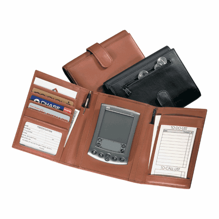 Genuine Leather Palm Pilot Organizer