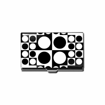 """Geometri"" Business Card Case"
