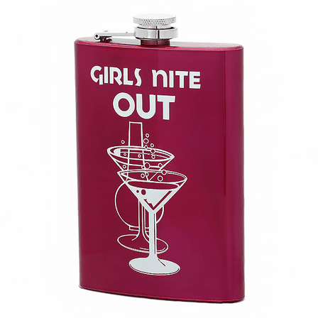 Girls Nite Out Martini Flask