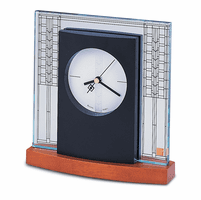 Glanner House Desktop Clock By Bulova