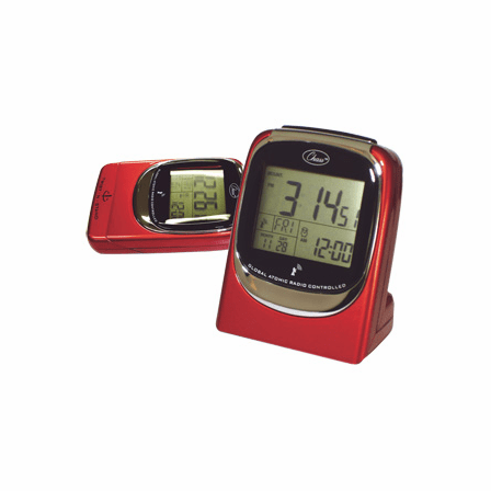 Global Sync Atomic Travel Alarm Clock - Discontinued