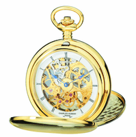 Gold Charles Hubert Pocket Watch & Chain #3904-G