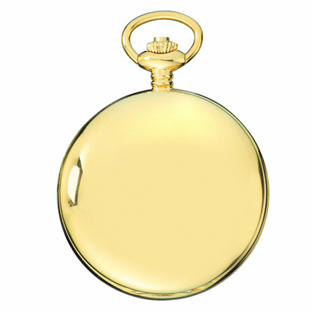 Gold Charles Hubert Pocket Watch & Chain #3907-GRR