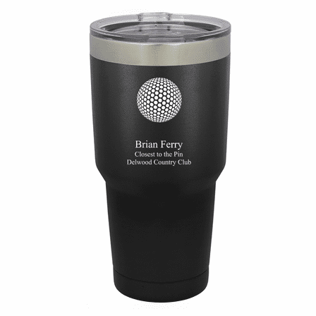 Golf Ball Personalized 30 Ounce Tumbler