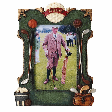 Golfer's Picture Frame