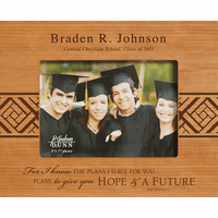 "Graduate's Personalized 5"" x 7"" Picture Frame"