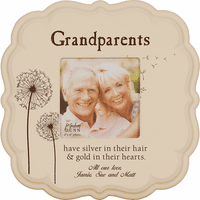 "Grandparents Personalized  4"" x 6"" Picture Frame"