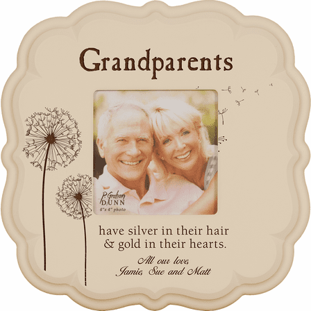 """Grandparents Personalized  4"""" x 6"""" Picture Frame - Discontinued"""