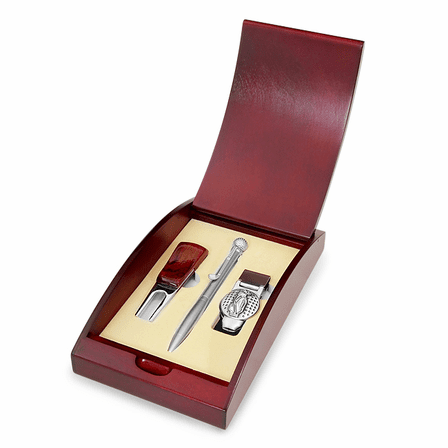 Greens to Boardroom Golfer's Gift Set - Free Personalization