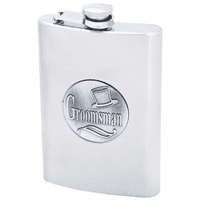 Groomsman's Flask For Liquor - Discontinued