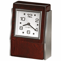 Haddington Rosewood Desk Clock by Howard Miller - Discontinued