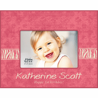 "Happy Birthday Girl Personalized 4"" x 6"" Picture Frame"