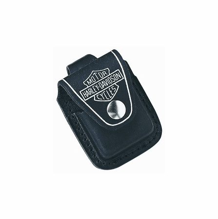 Harley Davidson Leather Lighter Pouch with Loop
