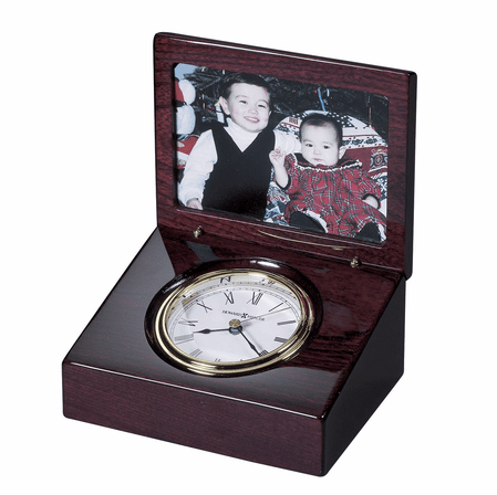 Hayden Desktop Photo Clock by Howard Miller - Discontinued