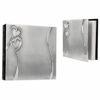 Hearts Wedding Guest Book