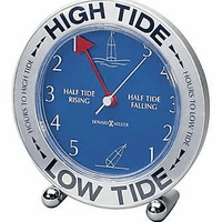 High Tide Table Clock By Howard Miller