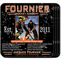 Hockey Academy Coaster Set - Free Personalization