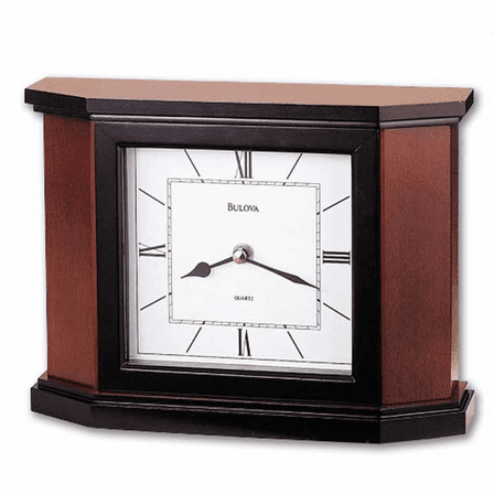 Holyoke Tabletop Clock By Bulova