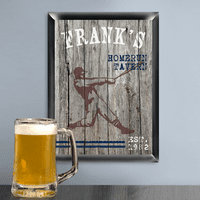 Home Run Man Cave Sign - Free Personalization