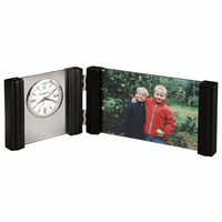 Horizon Picture Frame Desk Clock by Howard Miller - Discontinued