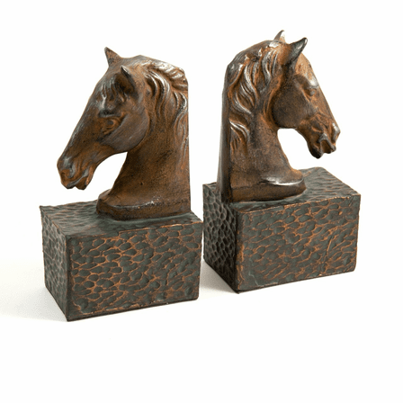 Horse Head Bookends - Discontinued