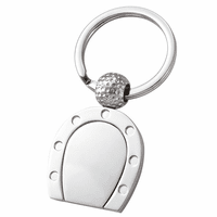 Horseshoe Personalized Key Ring