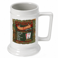 House Of Cards  German Beer Stein - Discontinued