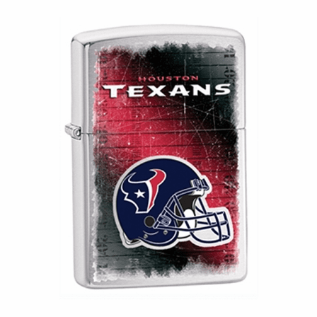 Houston Texans NFL Brushed Chrome Zippo Lighter - ID# 28225