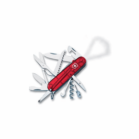 Huntsman Lite Ruby Swiss Army Knife