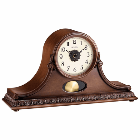 Hyde Park Chiming Mantel Clock By Bulova - Discontinued