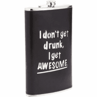 I Get Awesome 64 Ounce Flask - Discontinued