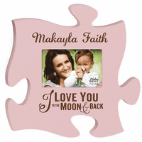 I Love You To The Moon Picture Frame - Discontinued