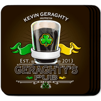 Irish Coaster Set - Free Personalization