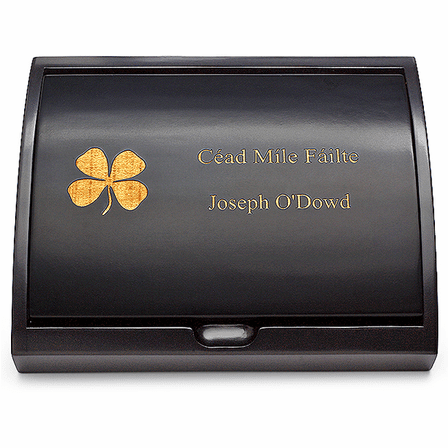 Irish Pen & Card Holder Set