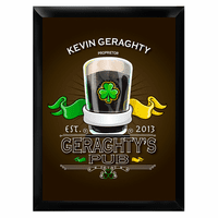 Irish Pub Sign - Free Personalization
