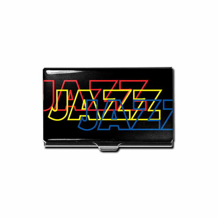 """Jazz"" Business Card Case"