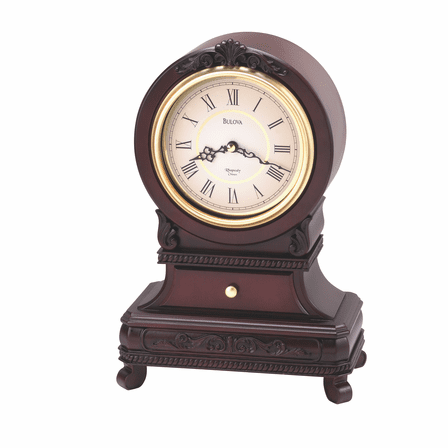 Knollwood Chiming Mantel Clock by Bulova- Discontinued