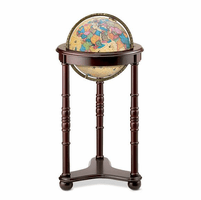 Lancaster Floor Globe in Antique by Replogle Globes