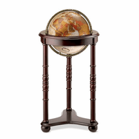 Lancaster Floor Globe in Bronze by Replogle Globes