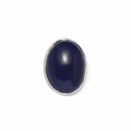 Lapis Collection Sterling Silver Tie Tack