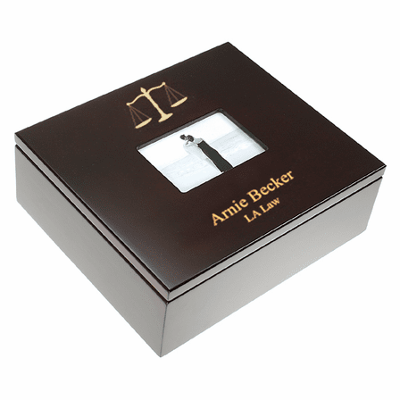 Lawyer's Treasure Box with Photo Frame