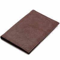 Leather Checkbook & Credit Card Wallet - Discontinued