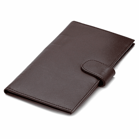 Leather Credit Card & Checkbook Holder