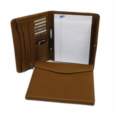 Leather Envelope Padfolio by Piel